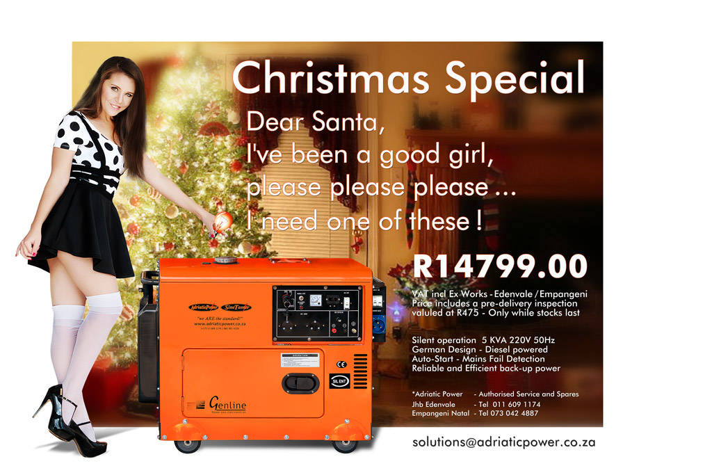 Generator Special – all I want for Christmas :)