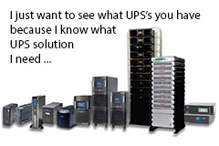 UPS Solutions